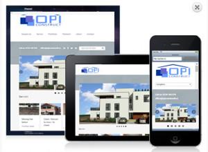 web design firma de constructii