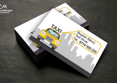 Creare carti de vizita - Taxi