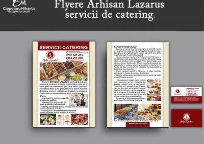 design flyere arhisa lazarus