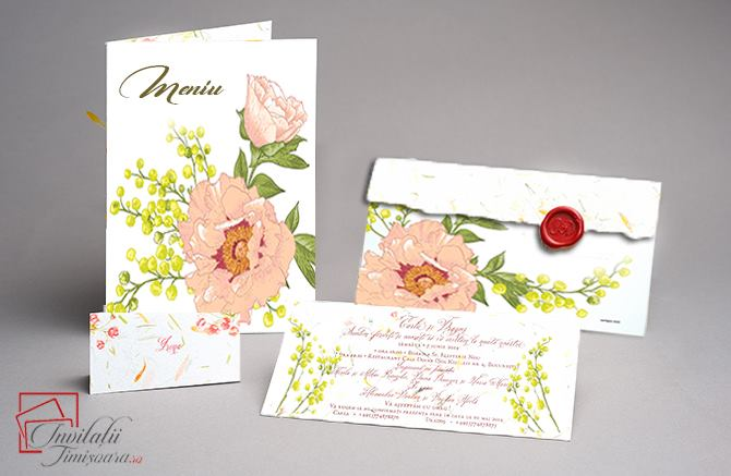 Invitatii hand made